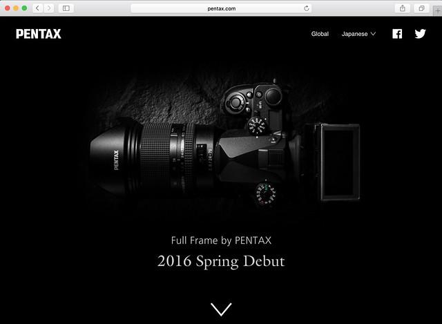 Full Frame by PENTAX | RICOH IMAGING